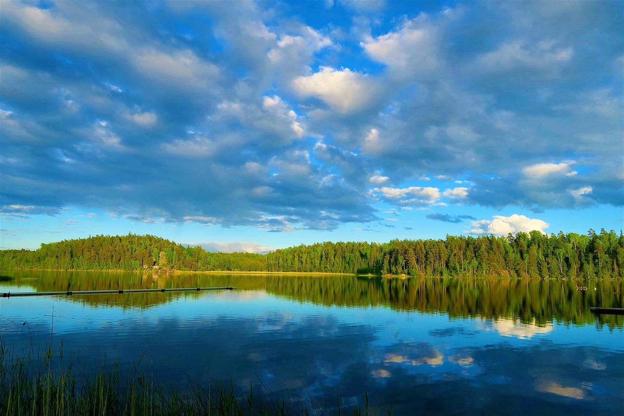 piękne jezioro
